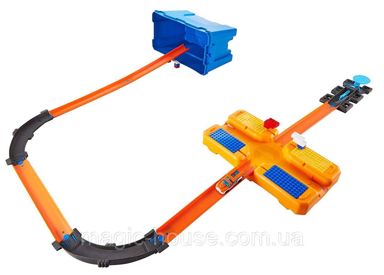 Трек Hot Wheels валізу для трюків Хот ВилсТгаск Builder Stunt Box