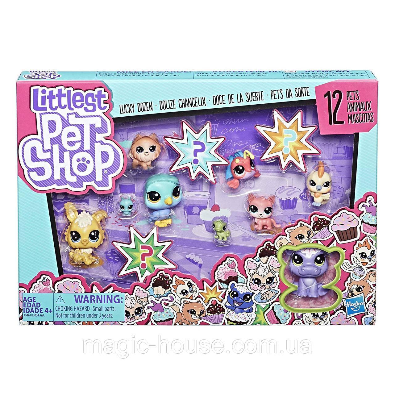 Игровой набор Littlest Pet Shop Lucky Dozen Cupcakes Оригинал от Hasbro