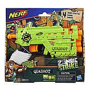 Бластер Нерф Зомби Страйк Квадрот Nerf Zombie Strike Quadrot Оригинал, фото 2