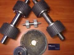 Комплектующие к грануляторам (матрицы, ролики, шкивы...)
