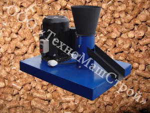 Гранулятор кормовой ГКМ-100 (Статина+привод+шкивы+двигатель 220V-1.5кВт)+матрица на выбор(2-8мм), фото 2