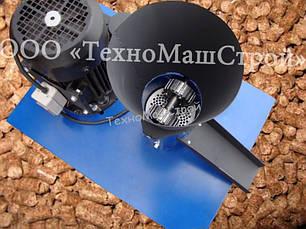 Гранулятор кормовой ГКМ-100 (Статина+привод+шкивы+двигатель 220V-1.5кВт)+матрица на выбор(2-8мм), фото 3