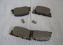 Колодки тормозные задние  FC 1061001404