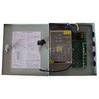 Блок питания 12V 5A, импульсного типа, индикация активности, BOX 60W 6050