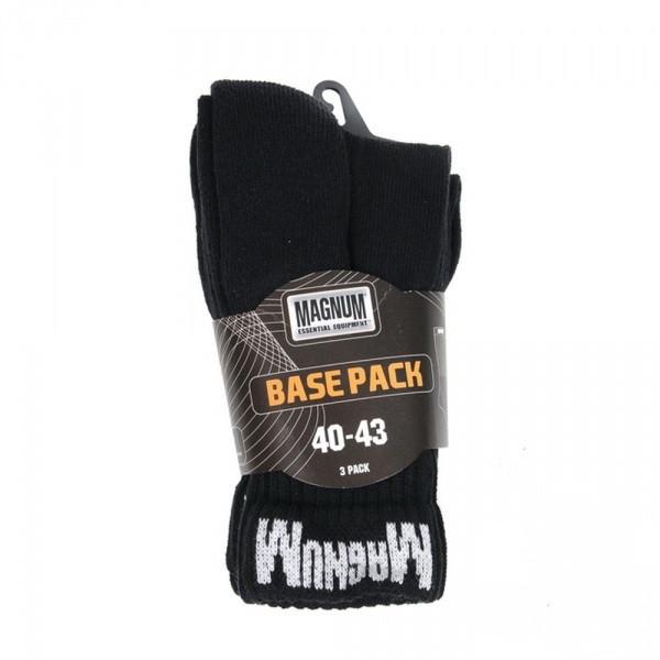 Носки Magnum Base Pack черные комплект 3 пары