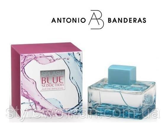 Antonio Banderas Splash Blue Seduction, Антонио Бандерас Сплэш Блю Седакшн, женский реплика