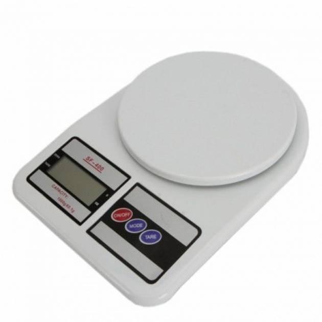 Ваги кухонні електронні на батарейках до 10 кг Kitchen SF-400