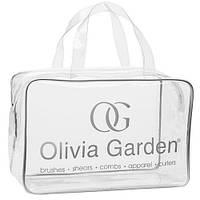 Сумка подарункова Olivia Garden для щіток з чорним кантом (BLPVC)