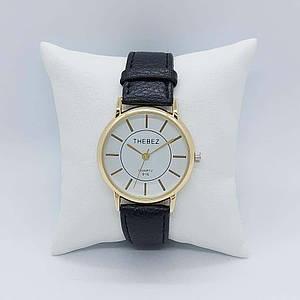 Наручний годинник Chronte Thebez 916-1 Black-Gold-White