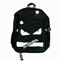 Городской черный для подростка Backpack школьный рюкзак, портфели в школу для девочки, для мальчика (TI)