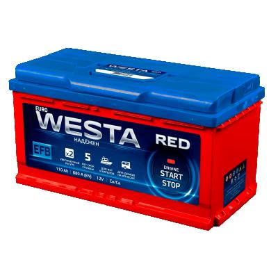 Аккумулятор Westa 6CT-110 А АзЕ RED EFB