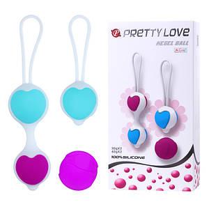 Силіконові вагінальні кульки Pretty Love Ball Kegel