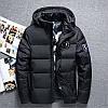Чоловіча зимова куртка пуховик YUG в наявності, чорний. РОЗМІР 44-50
