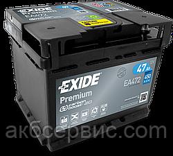 Акумулятор автомобільний Exide EA472