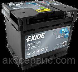 Акумулятор автомобільний Exide EA530