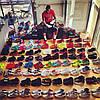 Огромная коллекция спортивной обуви  Джо Хейден