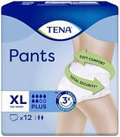 Впитывающие трусы-подгузники для взрослых Tena Pants Plus XL 12 шт.