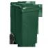 Контейнер для ТБО - 240 л,пластик,Украина зеленый