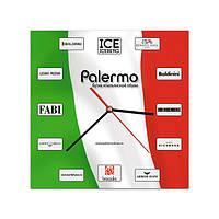 """Часы настенные с логотипом """"Palermo"""" (индивидуальный дизайн)"""