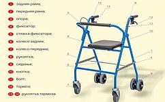 Крісло-коляска модель 148