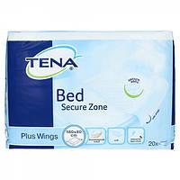 Пеленки гигиенические для взрослых Tena Bed Secure Zone Plus Wings 80х180 20 шт.