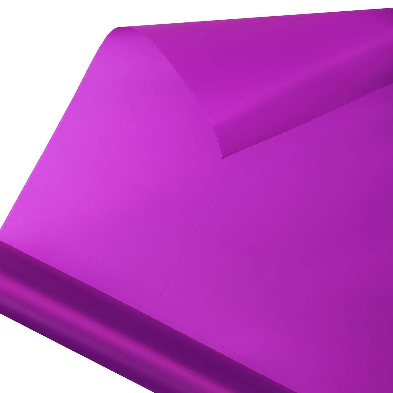 Калька для упаковки квітів в рулоні Фіолетова непрозора 0,7×10 м
