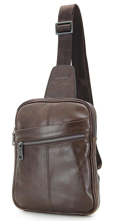 Рюкзак Vintage 14395 шкіряний Коричневий