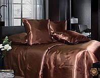 Двойной постельный комплект A0003 коричневый