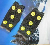 Ледоходы Non-slip на 5 шипов (накладки на обувь на липучке), фото 1