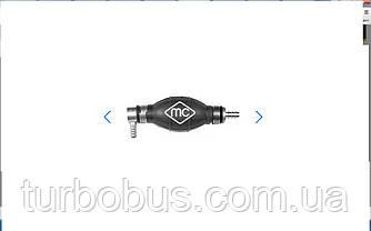 Ручной насос подкачки топлива (груша), угловая, на Рено Трафик 01-> METALCAUCHO (Испания) MC02009