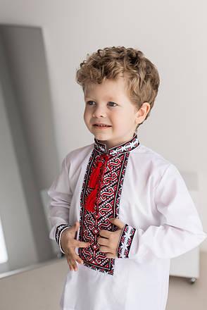 Сорочка вишиванка для хлопчика, фото 2