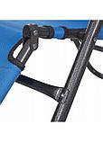 Шезлонг крісло-лежак для пляжу тераси та саду Springos Zero Gravity Синій (GC0004), фото 9