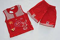 Детская футболка комплект для детей 1-2 года