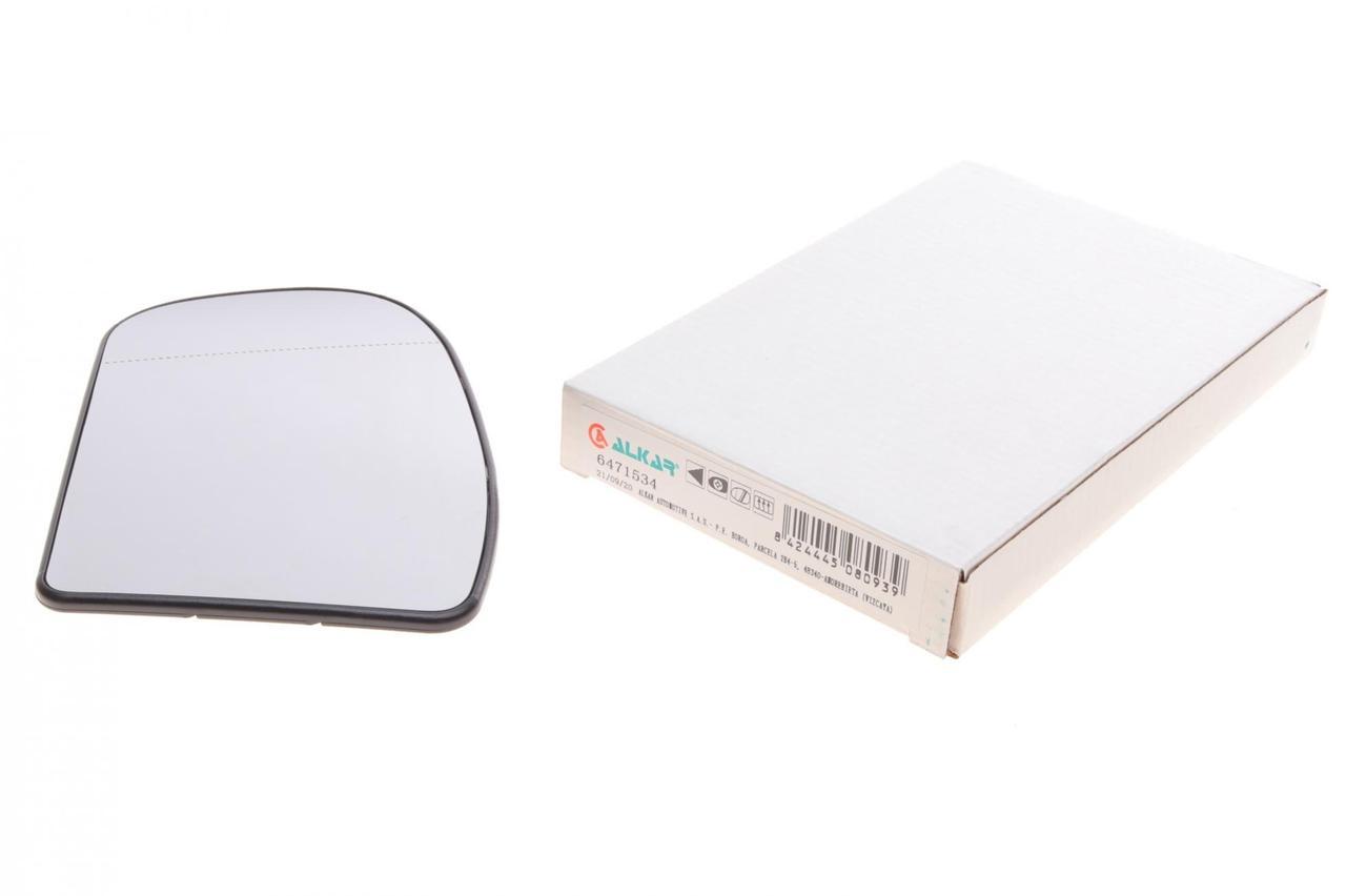 Скло дзеркала ліве (з підігрівом) (вставка, вкладиш) MB C-class (W203/S203/CL203)/E-class (W211/S211) 00-09