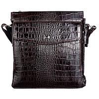 М'яка шкіряна Барсетка DESISAN 1357-19 коричневий кроко, фото 1