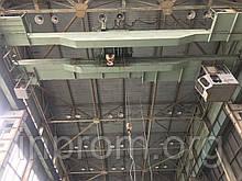 Мостовий кран в/п 16т/3,2 т х 16,5 м