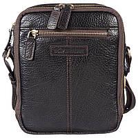 Барсетка мягкая кожаная Tony Bellucci 5153-886 коричневый флотар, фото 1