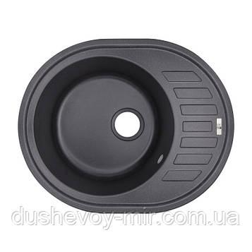 Кухонная мойка Lidz 620x500/200 BLA-03 (LIDZBLA03615500200)