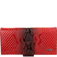 Гаманець жіночий шкіряний Desisan 906-500 червоний візерунок, фото 1