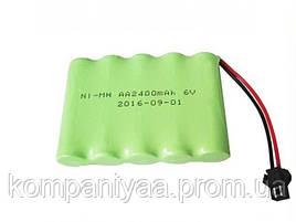 Аккумулятор для детских игрушек Ni-MH 6V 2400 mAh