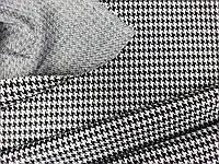 Тканина трикотажна, гусяча лапка середнього розміру № 620, фото 1