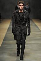 Пальто чоловіче з свакары під пояс