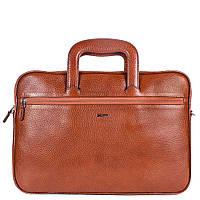 Портфель кожаный Desisan 321-015 рыжий флотар, фото 1