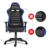 Ігрове крісло HUZARO Нова генерація FORCE 6.0 RGB LED Бренди Європи, фото 3