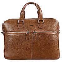 Портфель кожаный Desisan 912-015 рыжий флотар