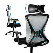 Крісло офісне MARKADLER Нова генерація MANAGER 3.0 GREY, фото 7