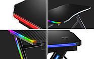 Стол Геймерский Компьютерный HUZARO Новая генерация Hero 4.5 RGB Подсветка Бренды Европы, фото 3