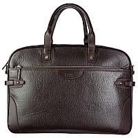 Портфель мягкий кожаный BOND 1209-286 коричневый, фото 1