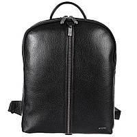 Рюкзак кожаный KARYA 6004-45 черный флотар, фото 1