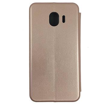 Чохол Book360 Samsung J4 2018 Gold